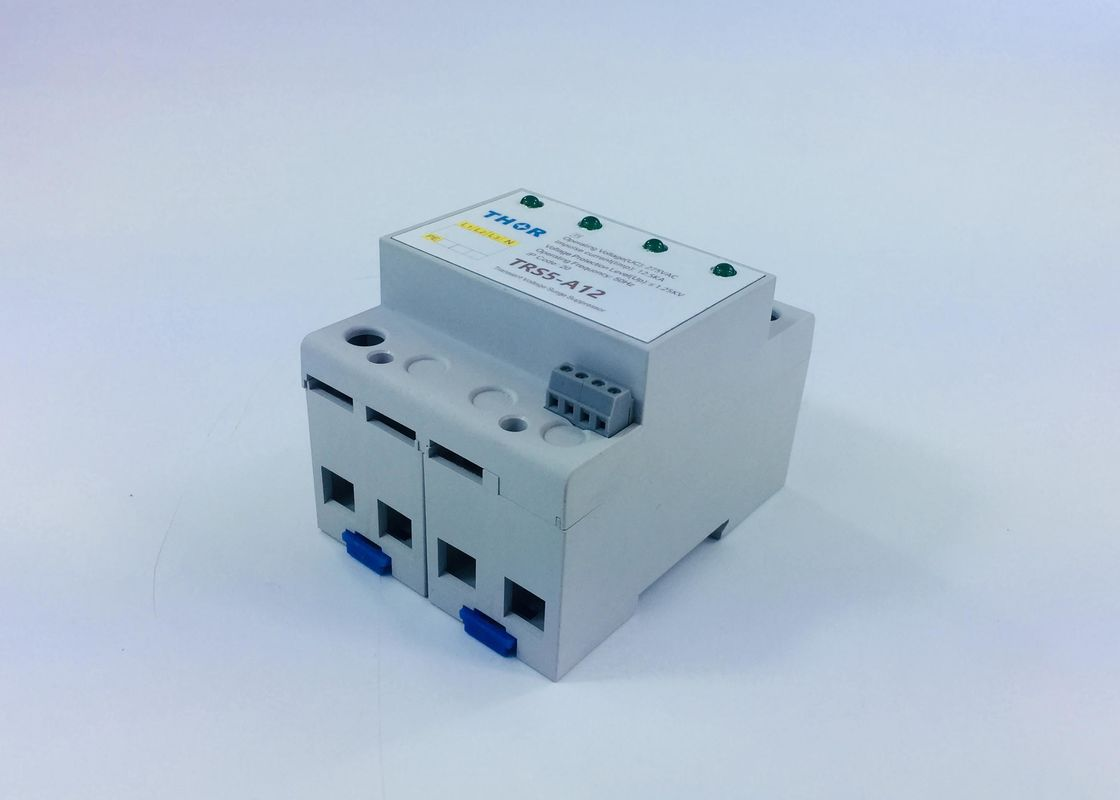Indoor Mounted 3 Phase Power Surge Protector , 240v Surge Protection Device Short Reaction Times