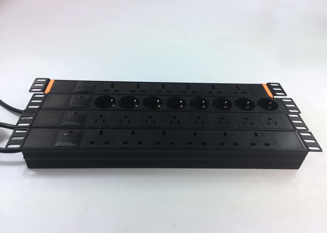 8 Industrial PDU Power Strip Network Layout Socket Power Supply Lightning Protection