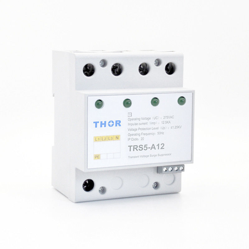 High Voltage Type 1 Surge Protection Device 12.5ka Built - In Thermal Protection