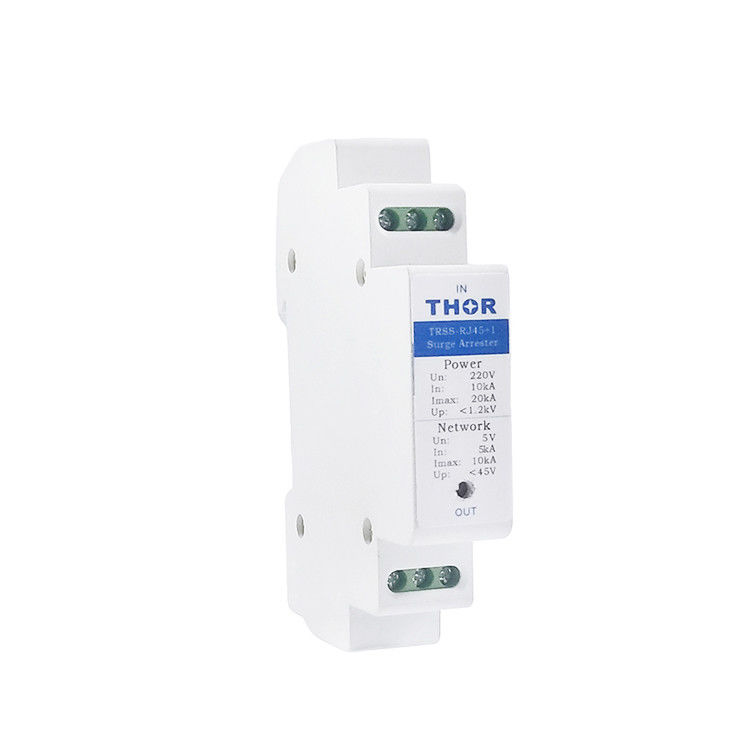 100M Ethernet Surge Protection Devices Low Output Residual Pressure Overvoltage Protection